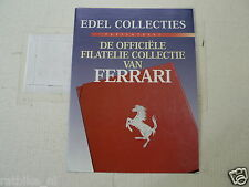 FLYER FERRARI GOLD STAMP COLLECTION EDEL COLLECTIES