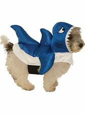 Blue Shark Ocean Sea Animal Cute Fancy Dress Up Halloween Pet Dog Cat Costume