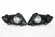 For 03-05 Mazda 6 Clear Lens Fog Driving Light Assembly w/Switch w/Bulbs w/Bezel