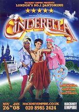 CINDERELLA Theatre Flyer Panto Handbill