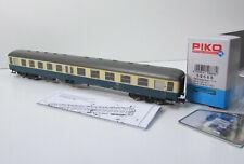 Piko H0 DC 59688 Mitteleinstiegswagen 1.und 2.Klasse DB ozeanblau beige