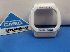 Casio Watch Parts GW-M5610 White Bezel. Red/Blue Printing Also fits GW-M5610TR-7