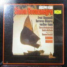 Abbado - Verdi: Simon Boccanegra new sealed 3 LP box set 2740 169 Germany 1982