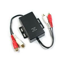 RCA/PHONO Ground Loop Isolator - Hum Noise Eliminator Car Radio Amplifier Filter