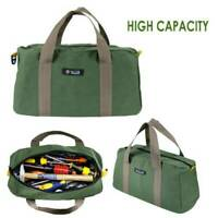 """18"""" Multi-function Canvas Waterproof Storage Hand Tool Bag Portable Tool Pouch"""