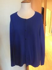 fd9bde1a1352 Bianca Cardigan Size 20 Blue With Drawstring Hem Now