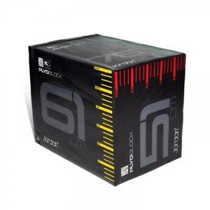 """JORDAN 3-IN-1 PLYO BLOCK/BOX (20,24,30"""") Plyometric Jump Box"""