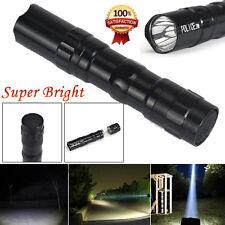 3W Super bright LED lamp Clip Clamp AA Flashlight Focus Torch Light Flashlight