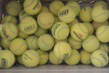 Lot de 30 balles de tennis usagées balle d'occasion pour entrainement ou chien