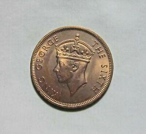 SEYCHELLES. 5 CENTS, 1948. KING GEORGE VI.