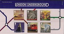 2012 GB QE2 STAMP COMMEMORATIVE PRESENTATION PACK NO 480 LONDON UNDERGROUND