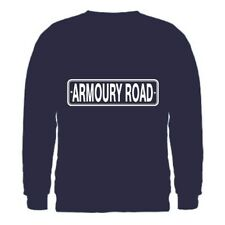 """ARMOURY ROAD"" RD BSA FACTORY ADDRESS CLASSIC BIKE SWEATSHIRT SML-2XL MOTORCYCLE"