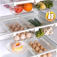 Kühlschrank Boxs kann Küchenregal Organizer Schrankhalter Aufbewahrungskorb Rack
