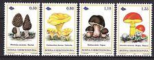 BOSNIA&HERZEGOVINA 1998** MNH SC #  309 - 312  The Mushrooms