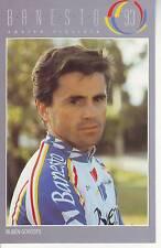 CYCLISME carte  cycliste RUBEN GOROSPE équipe BANESTO 1993