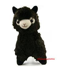 Alpacasso Arpakasso Amuse Solid Black Llama Alpaca Stuffed Plush Doll 14''