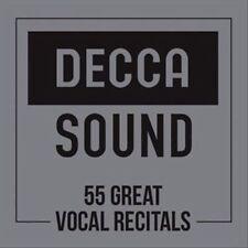The Great Vocal Recitals [55 CD Box Set], New Music