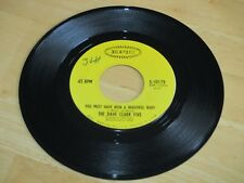 THE DAVE CLARK FIVE-YOU MUST HAVE BEEN A BEAUTIFUL BABY/man in a pin stripe suit