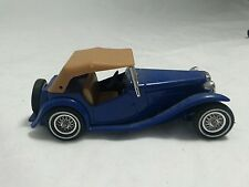 1977 Matchbox Y-8 1945 MG-TC 1:35 SCALE Made in England Blue