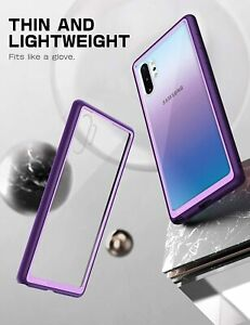 SUPCASE for Galaxy Note 10+ Plus, Clear Case Shockproof Thin Flexible Back Cover