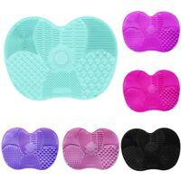 Silicone Makeup Brush Cleaner Pad Washing Scrubber Board Cleaning Mat Tool Home