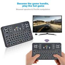 Wireless Bluetooth Keyboard Touchpad Mouse w/ Remote Control For Android Windows