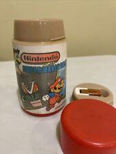 Vintage 1988 Aladdin Nintendo Super Mario Bros Thermos for Lunch Box