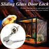 Sliding Glass Door Showcase Cabinet Reptile Vivarium Terrarium Lock W/ 2 Keys