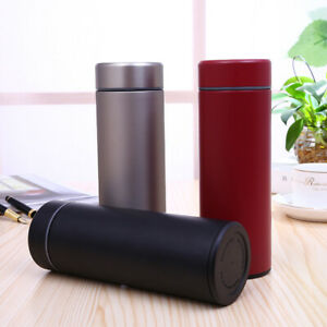 Stainless Steel Water Bottle Double Wall Insulated Vacuum Gym Metal Sports Cup B
