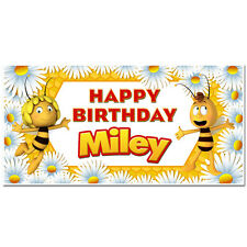 Maya the Bee Custom Birthday Banner