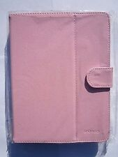 Pink Multi Angle PU Leather Carry Case for Gemini JoyTab 8? Tablet PC