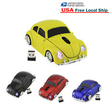 USB 2.4Ghz Wireless car Mouse optical PC Laptop MAC LED Scroll Mice +Receiver US