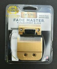 Andis Fade Master® Replacement Blade #01591 Gold Plated 24k