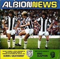 UEFA Cup - EC III 78/79 West Bromwich Albion - Galatasaray Istanbul, 27.09.1978