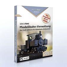 Stecotec Modellbahn-Verwaltung 2017 [CD-VERSION] Software / Programm f. Sammler