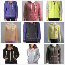 Special Rip Curl Womens DAWN PATROL Zip Thru Fllece Hoodie Jumper Coat Size 6-16