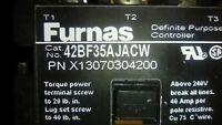 FURNAS 42BF35AJACW CONTACTOR 24VAC COIL