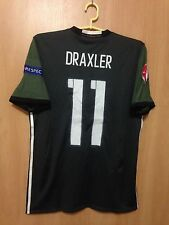 GERMANY 2016/2017 AWAY FOOTBALL SHIRT JERSEY TRIKOT EURO 2016 JULIAN DRAXLER #11