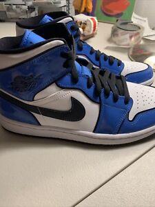 Men's Size 8.5 - Jordan 1 Mid SE Signal Blue
