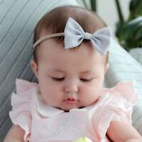 3pcs/set Infant Baby Girl Bow Headband Newborn Hair Band Headdress Headwear
