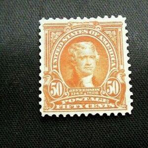 US Scott #310, 50¢ stamp , Mint, OG, H, VF,