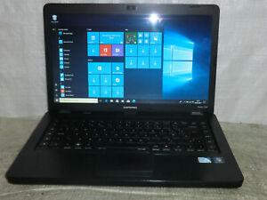 "Compaq Presario cq56 15.6""Celeron T3500 2.1Ghz 4GB 250GB Win10 Cheap Fast laptop"