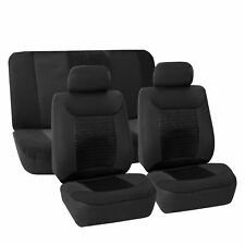 Gray Black Seat Covers Full Interior Set Universal Fitment for Car Suv Van Black (Fits: Seat)