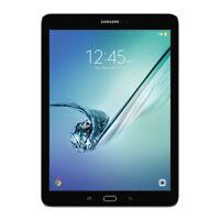 "Samsung Galaxy Tab S2 SM-T813NZKEXAR 9.7"" 32GB Wi-Fi Black With Pouch  Brand New"