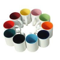 Personalised Coloured Mug Cup Custom Gift Your Image Photo Text & Design Printed