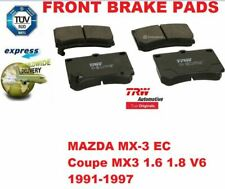Pour Mazda MX-3 Ec Coupé MX3 1.6 1.8 V6 1991-1997 Essieu avant Plaquettes de