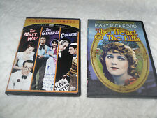 Two Silent Classic Dvds 4 Movies Dvd (Mary Pcikford * The Heart O The Hills + 3