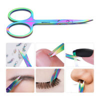 BORN PRETTY Chameleon Curved Head Eyebrow Scissors  Makeup Nail Art Tool