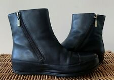 FitFlop DueBoot Black Leather Chelsea Boots Size 5 / 38 Immaculate Condition