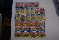 Baseball Card LIQUIDATION- LOT OF OLD VINTAGE UNOPENED BASEBALL CARDS IN PACKS